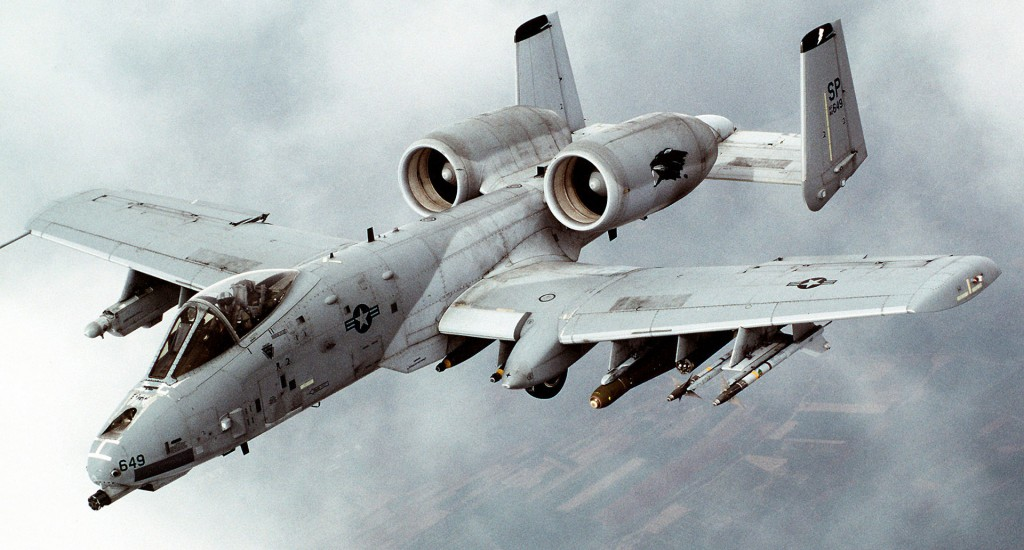5 Fast Facts About the A-10 Thunderbolt - Star Spangled Flags