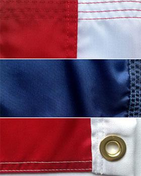 american flag details