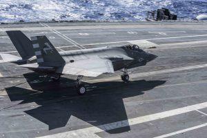 US Navy Tests New F-35C Lightning II Fighter Jet