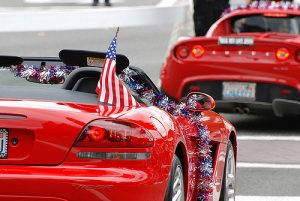 Can I Display the American Flag on My Car?