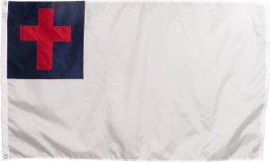 Christian Flag nylon