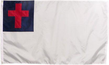 Christian flag nylon