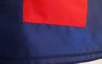 Christian Flag appliqué