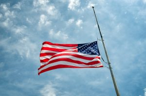 When to Fly the American Flag at Half-Staff