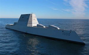 Largest US Destroyer Heads Out to Sea