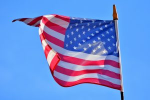 American flag, Cotton