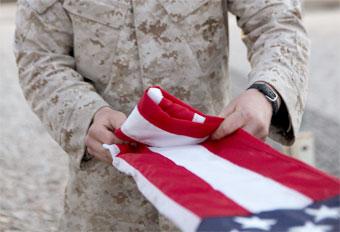 flag-folding