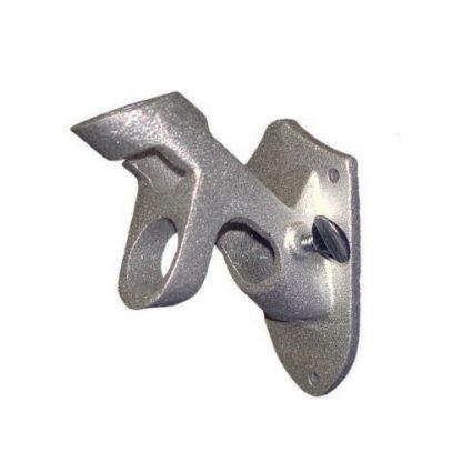 silver mounting bracket