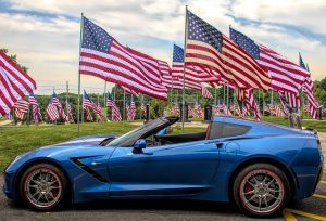 Can I Display the American Flag on My Vehicle?