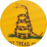 Gadsden tea party flag