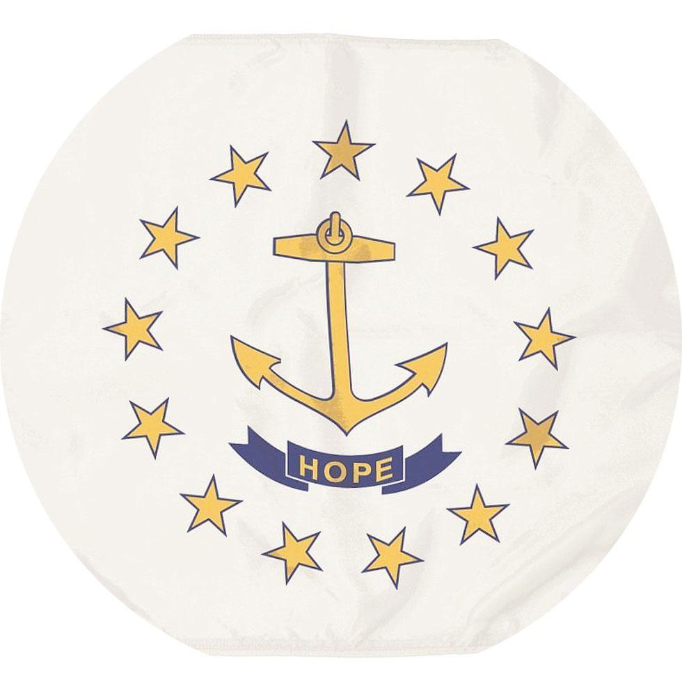 Nylon Rhode Island State Flag Star Spangled Flags