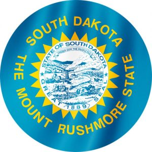 Flag of South Dakota