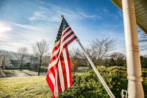 Can a Homeowner's Association Prohibit Me From Displaying the American Flag?